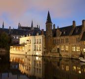 Rozenhoedkaai Bruges Royalty Free Stock Image