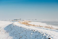 Rozewerf In Winter Royalty Free Stock Photography