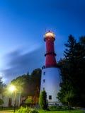 Rozewie-Leuchtturm, Polen Lizenzfreies Stockfoto