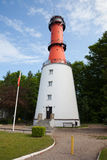 Rozewie Lighthouse in Poland Royalty Free Stock Photo