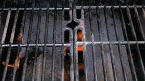 Rozgrzewkowy up grill zdjęcie wideo