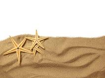 Rozgwiazda na plażowym piasku zdjęcia stock