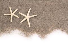 Rozgwiazdy na plażowym piasku Zdjęcia Stock