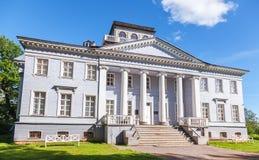 Rozhdestveno Memorial Estate. Facade of museum Stock Photo