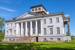 The Rozhdestveno Memorial Estate. Facade of museum Stock Photography