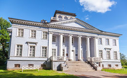 Rozhdestveno Memorial Estate. Facade of museum Stock Photo