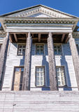 The Rozhdestveno Memorial Estate facade. Russia Royalty Free Stock Images