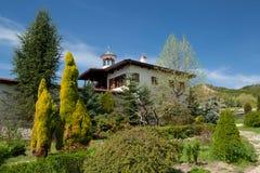 Rozhen修道院保加利亚,上帝的母亲圣诞生  免版税库存照片