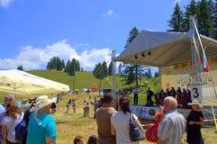 Rozhen Folklore Festival scene,Bulgaria Stock Photography