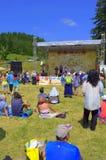 Rozhen National Folklore Fair scene Royalty Free Stock Photo