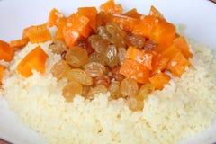 Rozijn en wortel Stock Fotografie