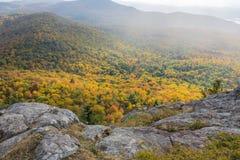 Rozjarzeni jesień kolory Zdjęcia Royalty Free