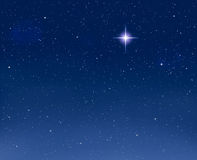 rozjarzoną gwiazdę Zdjęcie Stock