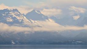 Rozjarzone białe góry zbiory wideo
