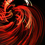 Rozjarzone czerwone linie Zdjęcia Stock