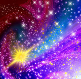 rozjarzone gwiazdy Fotografia Royalty Free