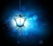 Rozjarzony lampion Fotografia Stock