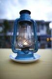 rozjarzony płomienia lampion Fotografia Royalty Free