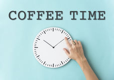 Rozkładu budzika czasu pojęcie Fotografia Stock
