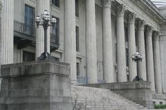 rozkaz budynku prawa Zdjęcia Royalty Free
