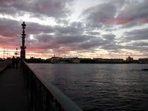 Rozkaz w St Petersburg Zdjęcia Stock