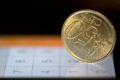 rozliczać monetarny zdjęcia stock