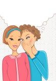 rozmów kobiety Zdjęcia Stock
