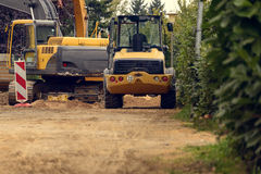 Rozmaitość budowy maszyny ciężkie Zdjęcie Royalty Free