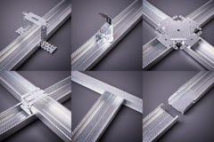 Rozmaitość drywall skowy Fotografia Stock