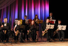 Rozmaitości orkiestra symfoniczna fotografia stock