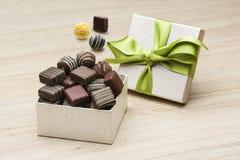 Rozmaito?? czekolady obrazy stock