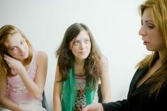 rozmawiać z kobietami Zdjęcie Stock