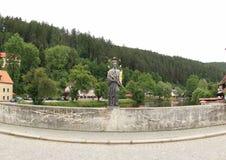 Rozmberk, Δημοκρατία της Τσεχίας Στοκ φωτογραφίες με δικαίωμα ελεύθερης χρήσης