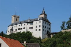 Rozmberk castle Stock Images