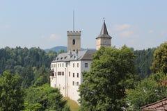Rozmberk castle Royalty Free Stock Photography