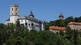 Rozmberk nad Vltavou Fotos de archivo