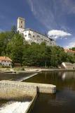 Rozmberk Schloss Stockfoto