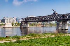 Rozmontowywać most Obrazy Royalty Free