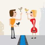 rozmowa ilustracja wektor