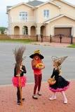 Rozmowa czarownicy Fotografia Royalty Free