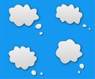 Rozmowa dialog chmura royalty ilustracja