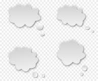 Rozmowa dialog chmura ilustracja wektor
