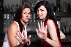 Rozmowa ręka Zdjęcia Stock