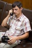 Rozmowa telefonicza Obraz Royalty Free