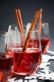 Rozmyślający wino Obrazy Royalty Free