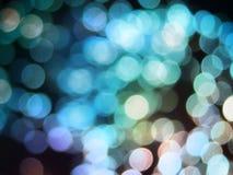 rozmyci kolorowi światła Fotografia Stock