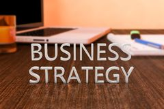 rozmyta biznesowa ostrość inni czerwoni strategii słowa fotografia royalty free
