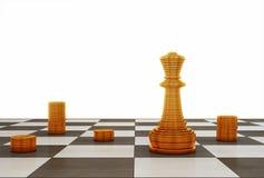 rozmyta biznesowa ostrość inni czerwoni strategii słowa Obrazy Royalty Free