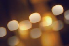 Rozmyty, oświetleniowy bokeh tło, Obrazy Stock