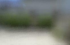 Rozmyty outdoors przez szkła Obrazy Stock